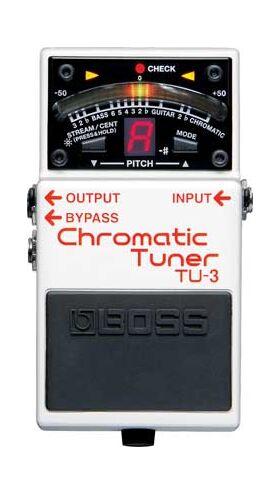 Boss TU-3 chromatische tuner