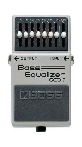 Boss GEB-7 7 bands EQ voor bas