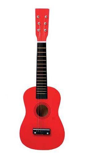 Gitaar , rood L 60 cm.
