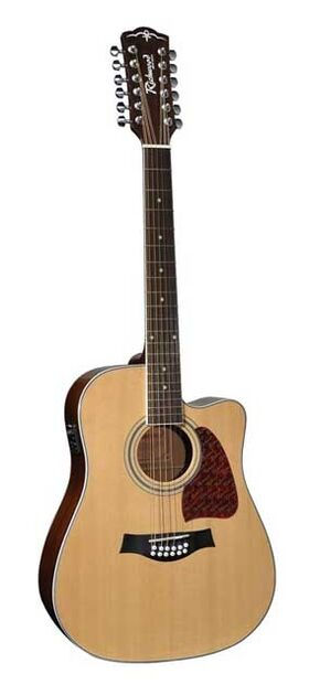 Richwood 12-snarige akoestische gitaar RD-17-12CE