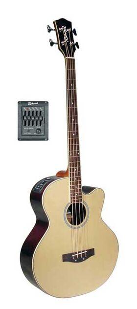 Richwood akoestische basgitaar RB-102-CE