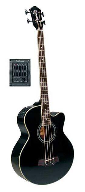 Richwood akoestische basgitaar RB-102-CEBK